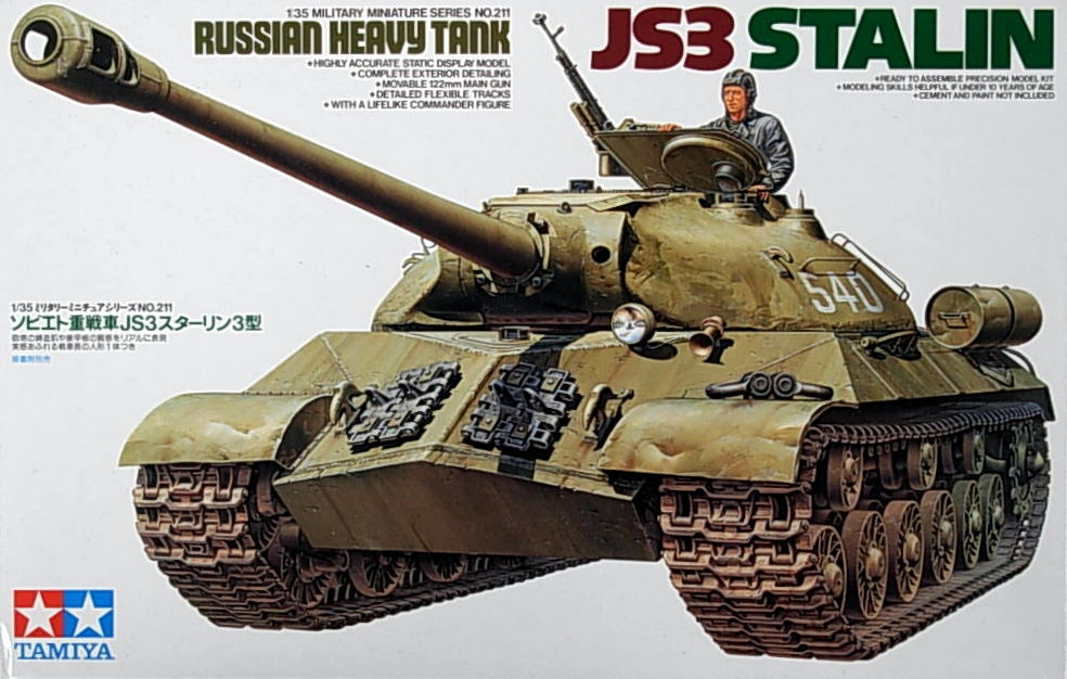 Russian Heavy Tank JS-3 Stalin