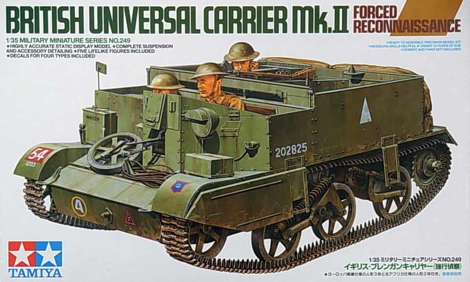 British Universal Carrier Mk. 11 (Recon)