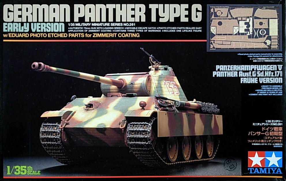 Panther G (Early) with Eduard Etch parts