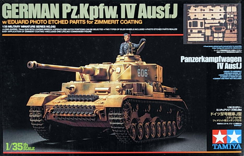 Panzer IV Ausf. J with Eduard Etch Parts