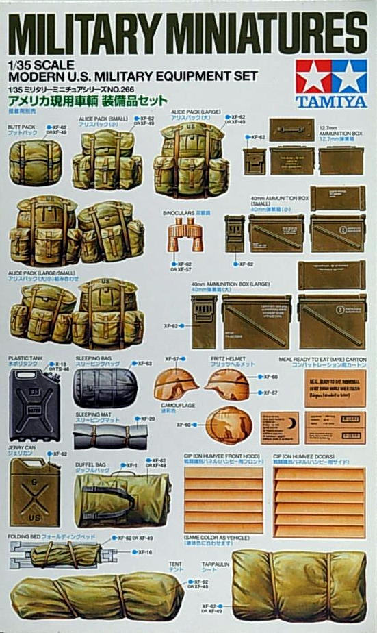 US Military Equipment Set - Click Image to Close