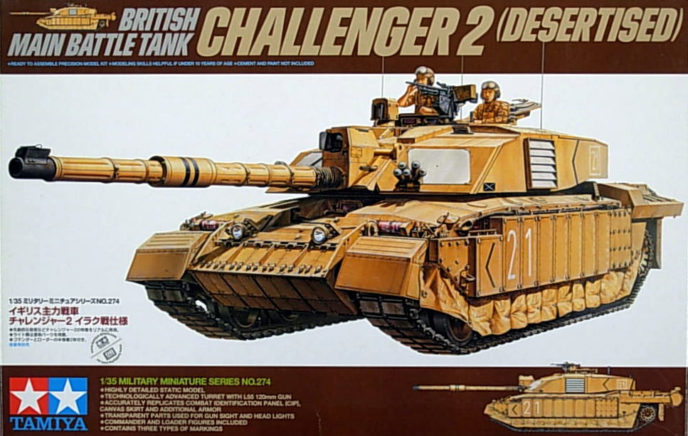 British Challenger II -Desert Version