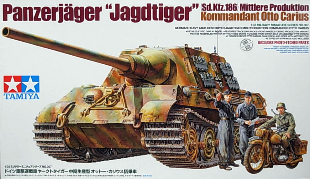 German Jagdtiger Mid Product. - Otto Carius
