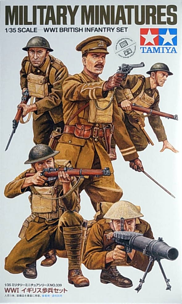 WW 1 British Infantry