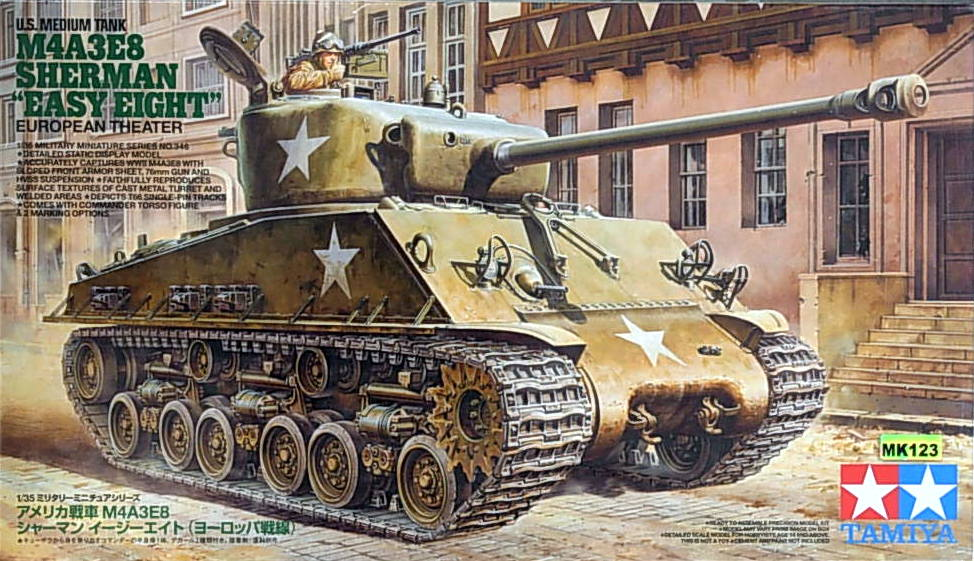 "Medium Tank M4A3E8 Sherman ""Easy Eight"""