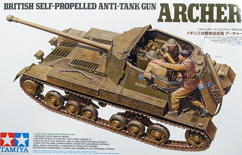 British Anti Tank Self Propelled Gun Archer