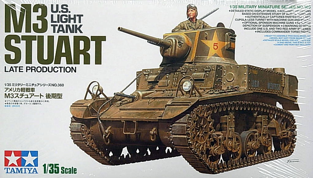 M3 Stuart. Late production