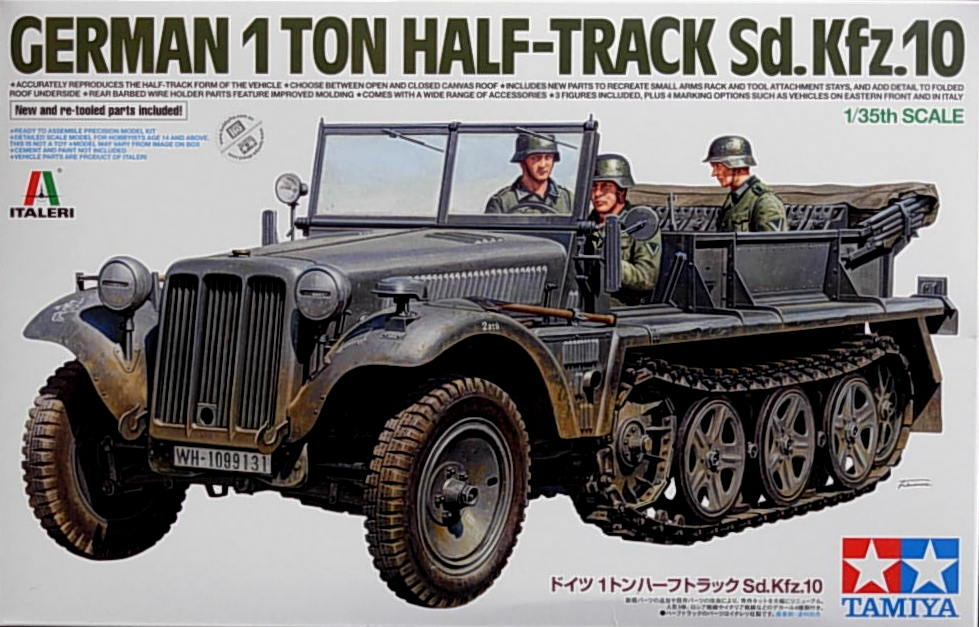 German 1Ton Half-Track Sd.Kfz10