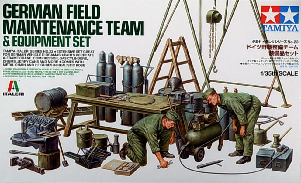 German Field Maintance & Equipment Set