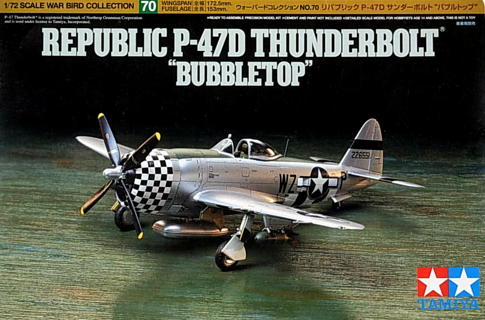 "P-47D Thunderbolt ""Bubbletop"""