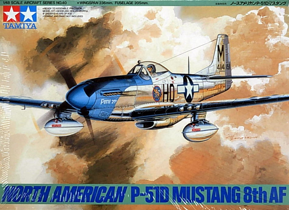 P-51D Mustang 8th Air Force