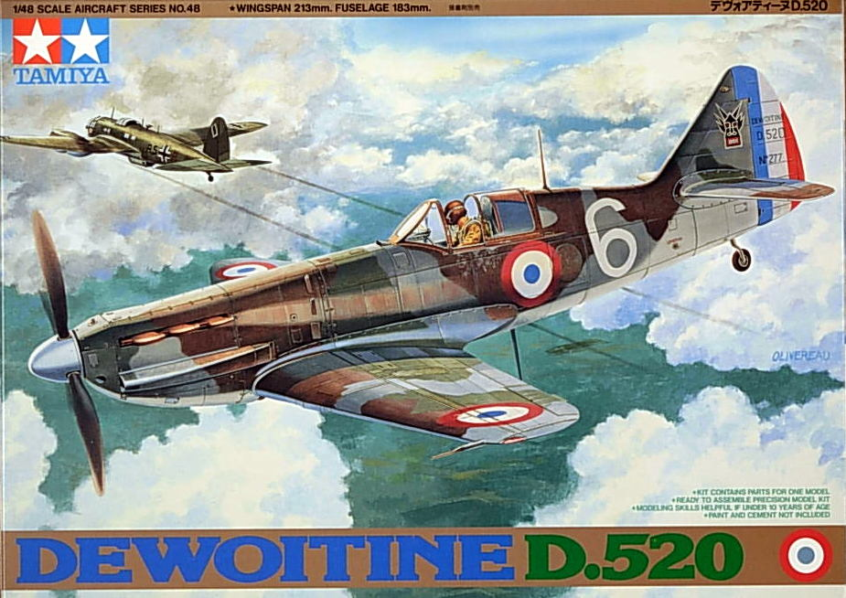 Dewoitine D.520 (may have soiled decal)