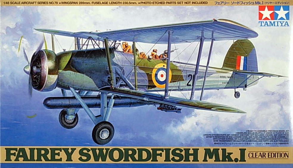 Swordfish Mk.1 with wheels- clear body