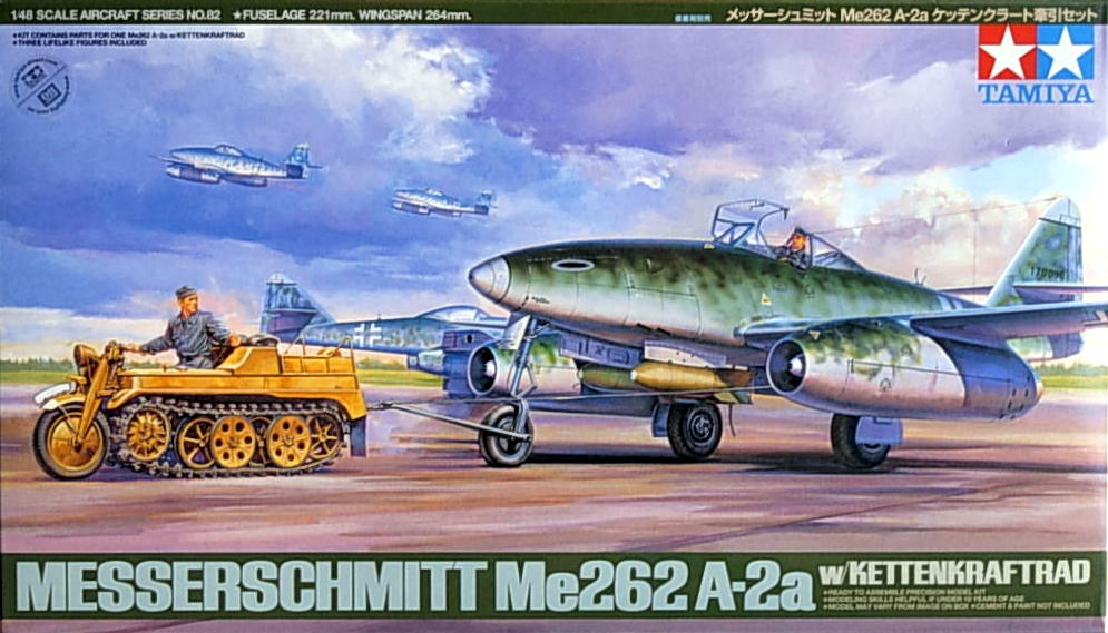 Me-262 A-2a with Kettenkraftad