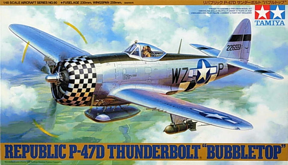 "P-47D ""Bubble"" Thunderbolt"