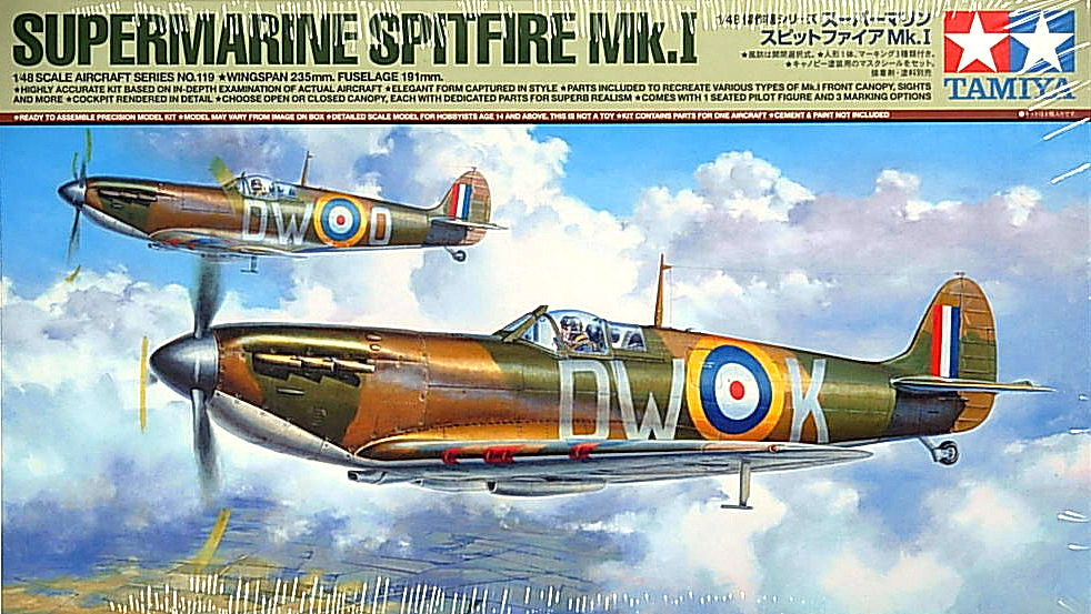 Spitfire Mk.1 (New Tool)