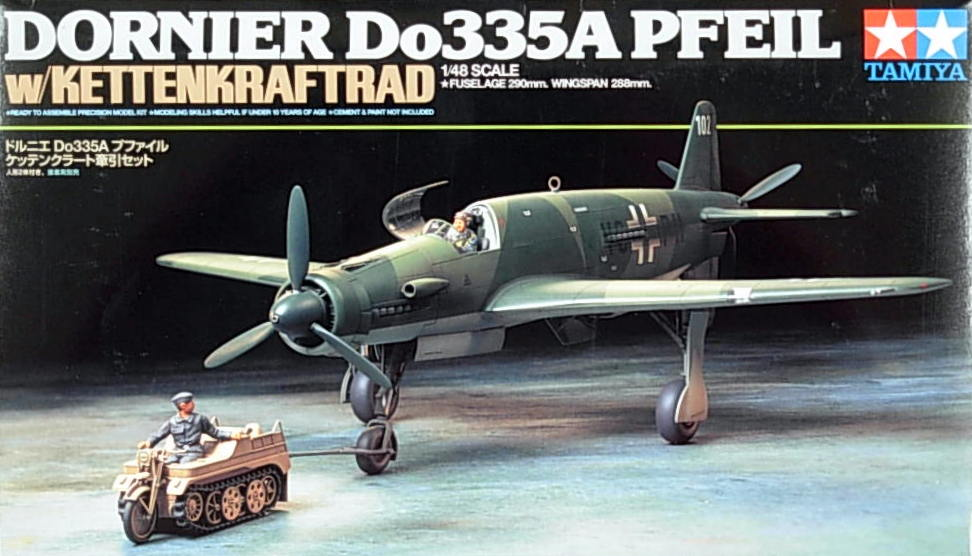 Do-335A with Kettenkraftrad