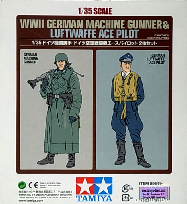 German mach. Gunner & Ace Pilot