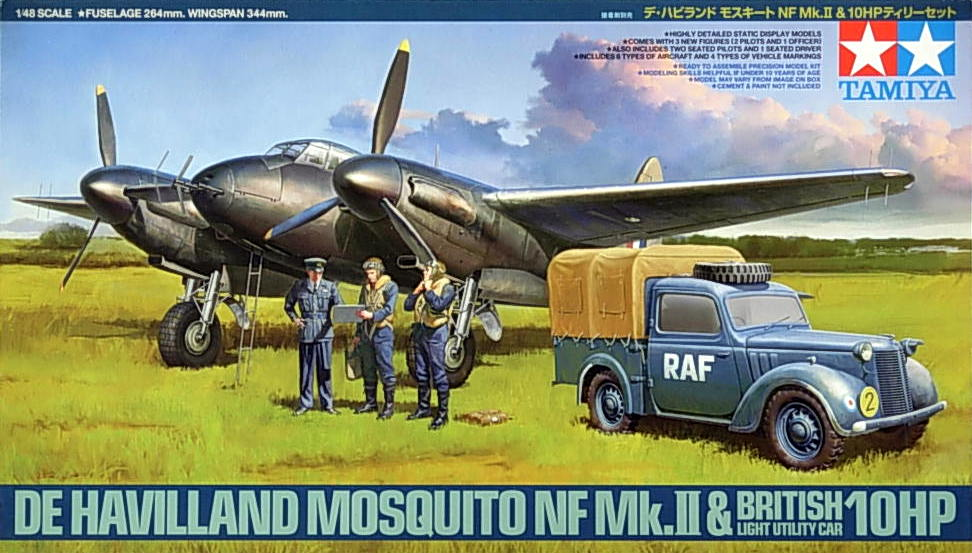 "Mosquito NF Mk.12 with ""Tilly"" 10HP"